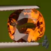 Untreated Orange Sapphire (Bang Kacha, Thailand)