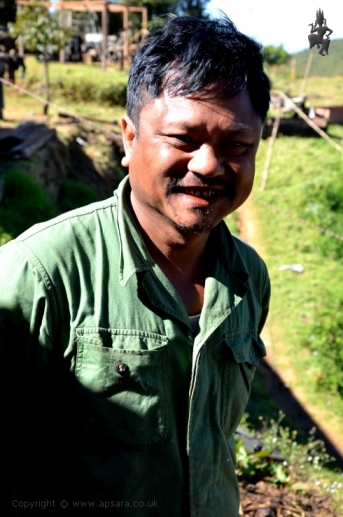 The mine manager at the peridot mines, Pyaung Gaung, Mogok